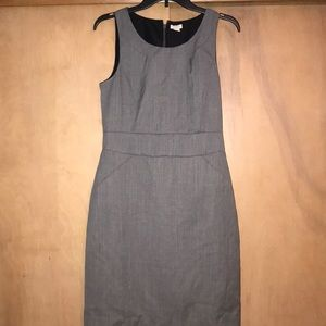 J Crew Grey Work Dress 6